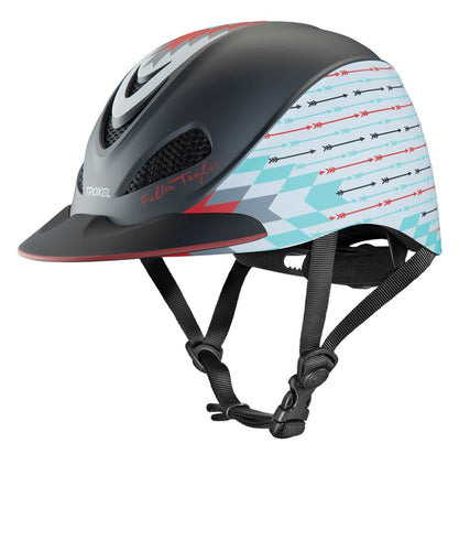 Troxel Fallon Taylor Gray Firestorm Riding Helmet- Style #04-405