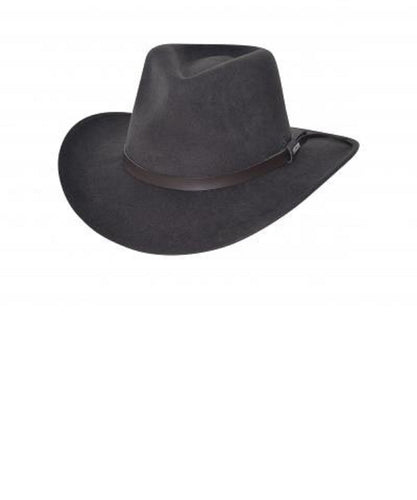 BULLHIDE HATS VOYAGER CRUSHABLE HAT- STYLE #0773CH-CHOCOLATE