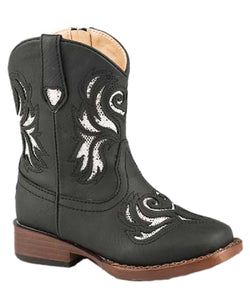 8c5f21a90ee ROPER GIRLS' BLING WESTERN BOOT- STYLE #09-017-1901-0992