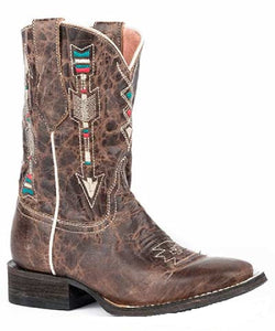 Roper Kid's Arrow Fashion Boot- Style #09-018-7022-1426