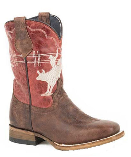 ROPER KIDS' BULL RIDER FASHION BOOT - STYLE #09-018-7022-1445