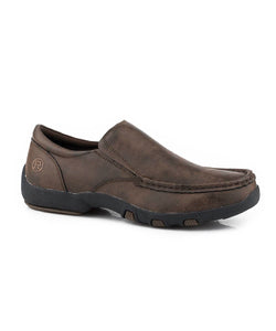 Roper Men's Brown Trent Slip On Shoe- Style #09-020-0191-9529