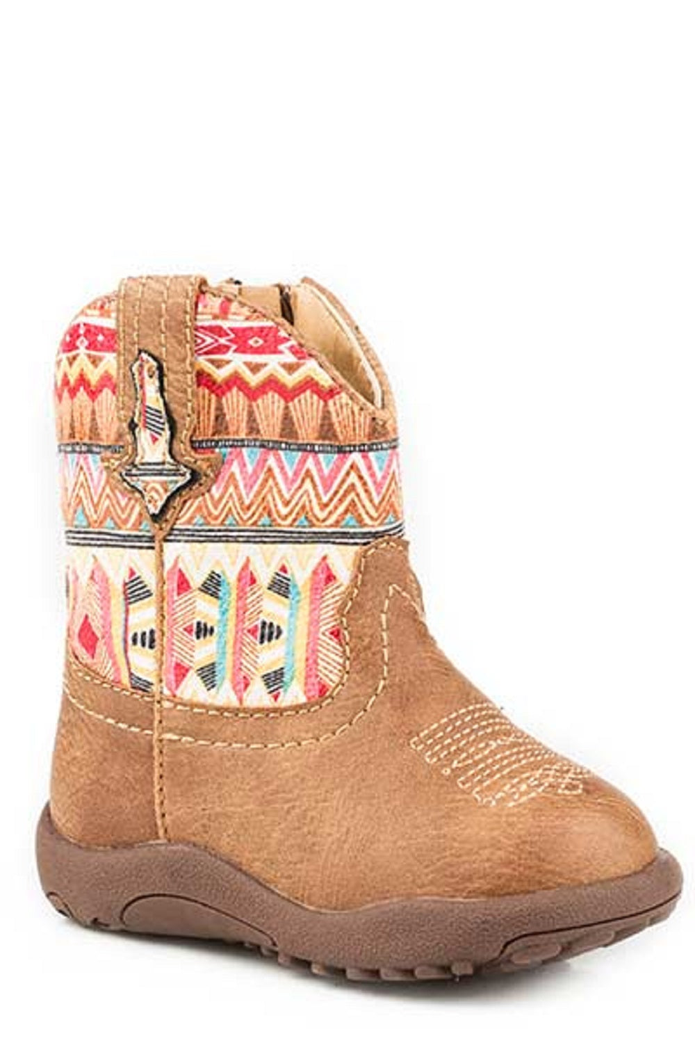 ROPER INFANT SQUARE TOE AZTEC SHOE - STYLE #09-016-1226-2032