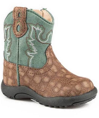 ROPER INFANT'S COWBABIES BOOTS - STYLE #09-016-1226-2203