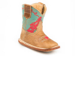 Roper Infant Cowbabies Barrel Racer Boot- Style #09-016-7912-1376