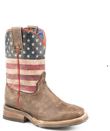 Roper Kids' Lil America Boot- Style #09-018-7001-1368