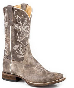Roper Women's Desert Rose Leather Boot- Style #09-021-9201-1723