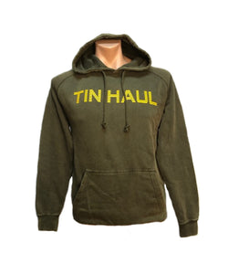 Tin Haul Men's Olive Green Hoodie- Style #10-097-0300-0883