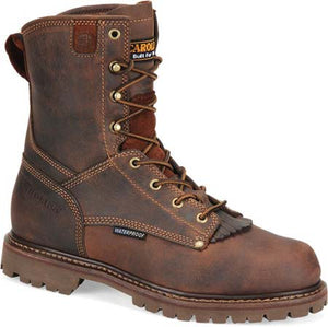 CAROLINA LACER BROWN WORK BOOT- STYLE #CA8028