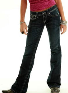Cowgirl Tuff Women's Queen Of Everything Jean- Style #QUEENE