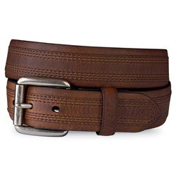 ARIAT MEN'S BARREL ENGLISH BEVEL BELT- STYLE #1000001942