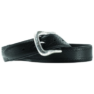 M&F Western Men's Ariat Black Leather Belt- Style #A10004353