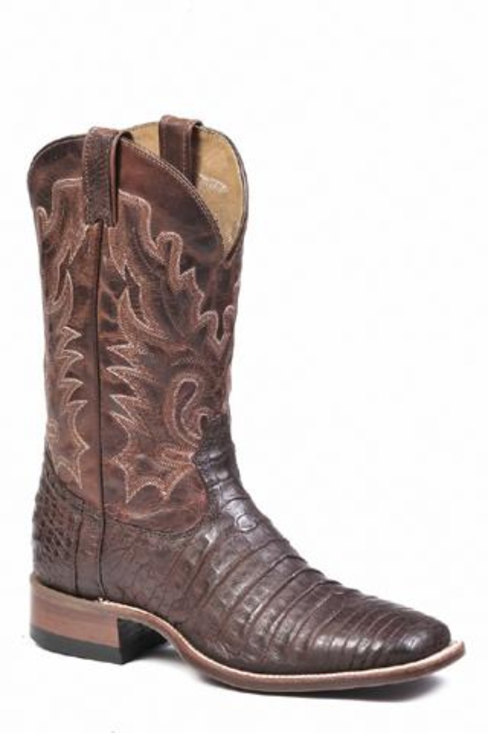 BOULET MEN'S CAIMAN CHOCOLATE MATTE BOOT- STYLE #7533