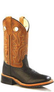 OLD WEST YOUTH CORONA CALF LEATHER BOOT- STYLE #BSY1810