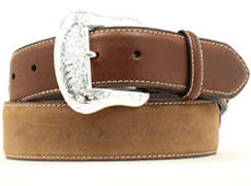 M&F Western Men's Brown Western Belt- Style #N2475444