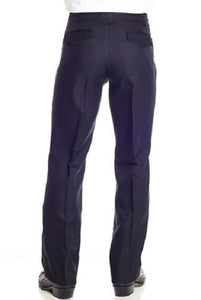 Circle S Men's Solid Black Dress Ranch Pant- Style #CP4793-41