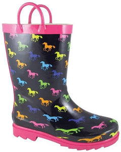Smoky Mountain Children's Ponies Rubber Boot- Style #2754C