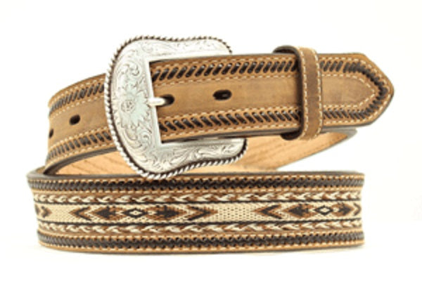M&F Western Men's Nocona Leather Belt- Style #N2487644
