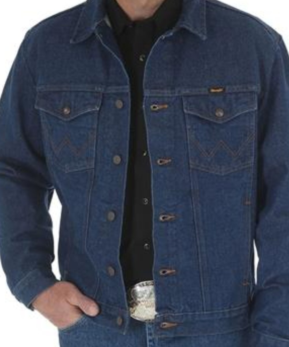 Wrangler Men's Unlined Denim Jacket- Style #74145PW