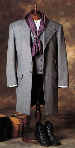OLD FRONTIER CLOTHING MEN'S FROCK COAT- STYLE #LIMITED FROCK 429A