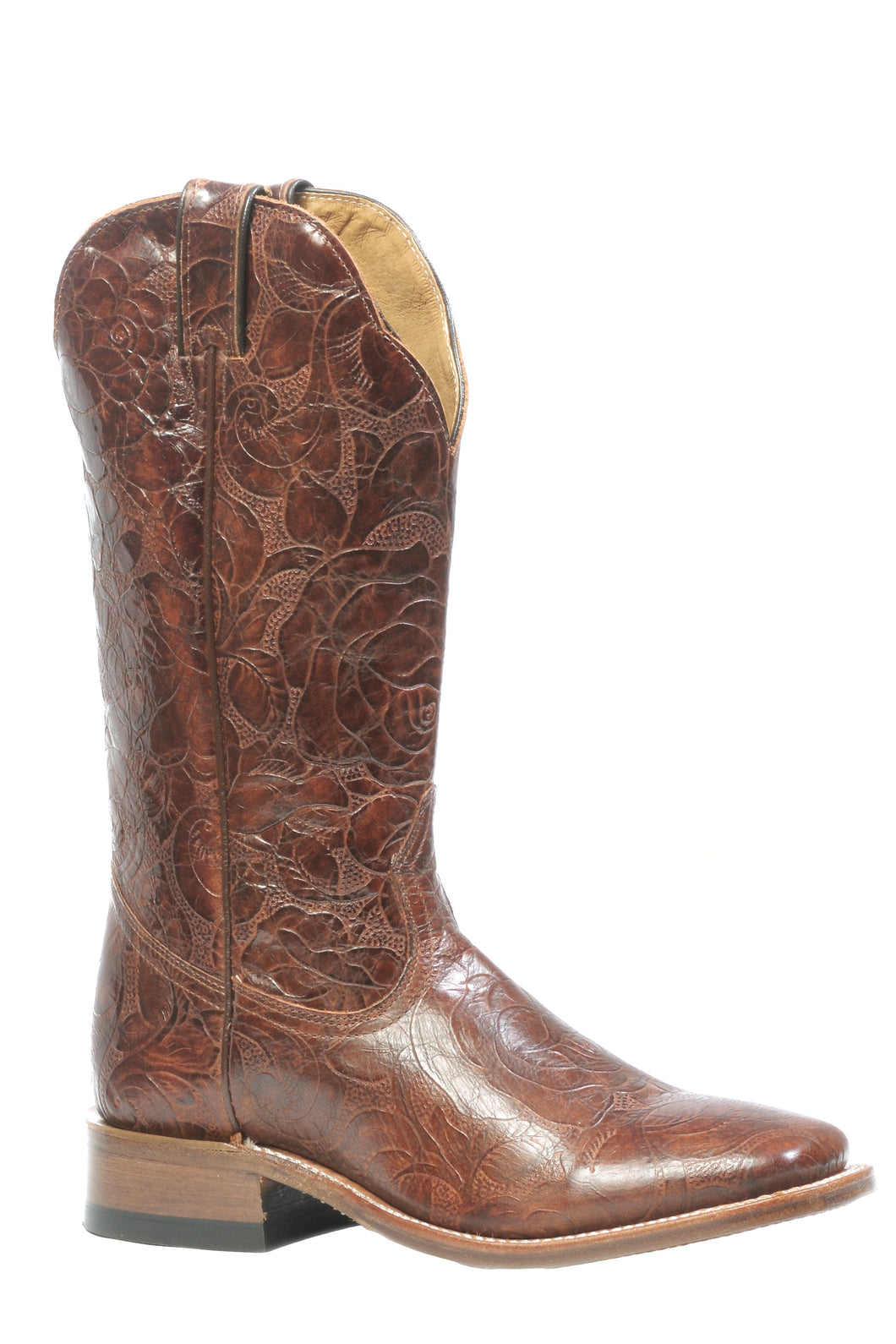 BOULET WOMEN'S RUSTIC EAGLE BRANDY BOOT- STYLE #3207