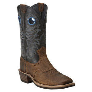 ARIAT MEN'S HERITAGE ROUGHSTOCK WST BOOT- STYLE #10014024