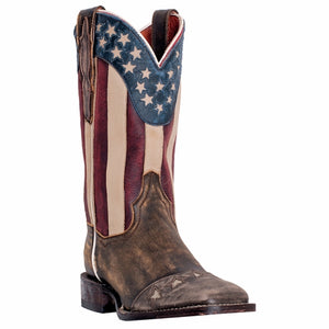 DAN POST WOMEN'S BETSY STARS AND STRIPES BOOT- STYLE #DP3914