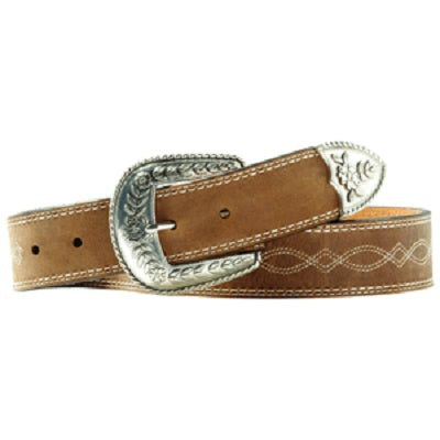 M&F Western Women's Ariat Fatbaby Leather Belt- Style #A10004144