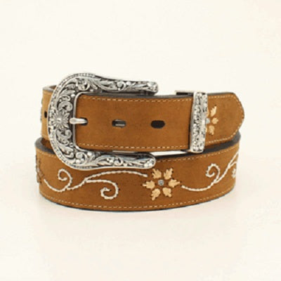 M&F Western Women's Nocona Embroidered Belt- Style #N3447044