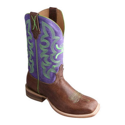 Twisted X Women's Hooey Purple/Green Boot - Style #Why0005
