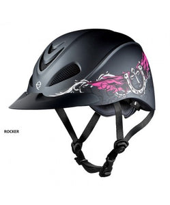 TROXEL REBEL ROCKER RIDING HELMET- STYLE #REBEL RCK