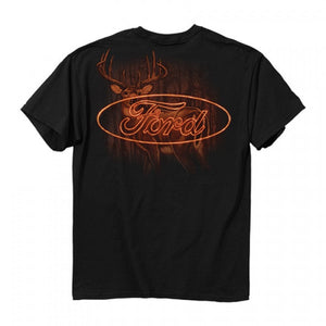 BUCK WEAR MEN'S FORD HOT LOGO TEE- STYLE #3456