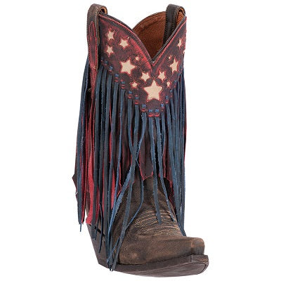 Dan Post Women's Liberty Fringe Boot- Style #DP3531