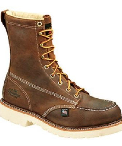 Thorogood Men's American Heritage Safety Toe Work Boot- Style #804-4378