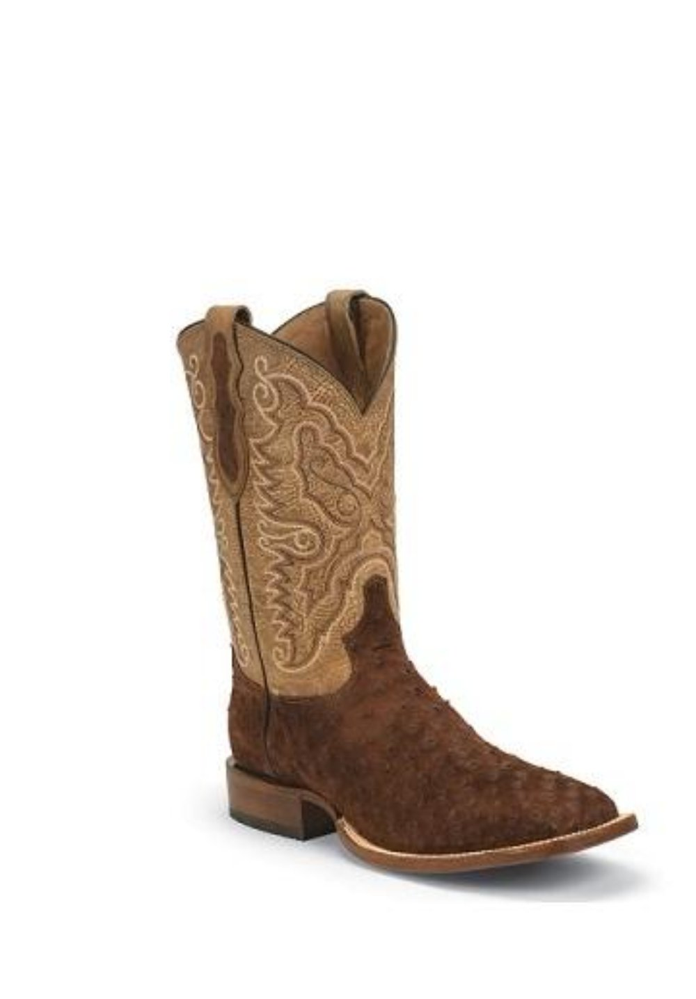 TONY LAMA MEN'S NAVARO FULL QUILL OSTRICH BOOT- STYLE #9093