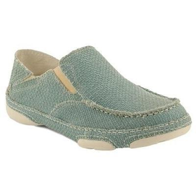 TONY LAMA WOMEN'S OCEAN BLUE 3R CASUALS CANVAS SHOE - STYLE #RR3038L