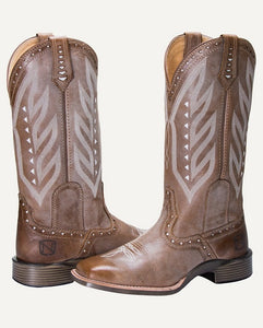 NOBLE OUTFITTERS WOMEN'S ALL AROUND SQUARE TOE VINTAGE BOOT- STYLE #66031