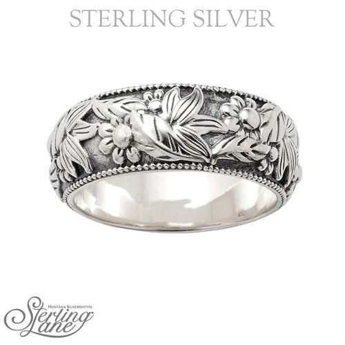 STERLING LANE WOMEN'S WILDFLOWER MELODY RING- STYLE #SLRG013