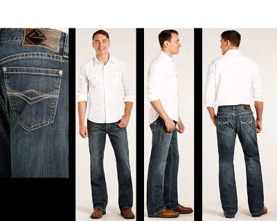 Rock & Roll Cowboy Men's Double Barrel Reflex Jean- Style #M0D3466