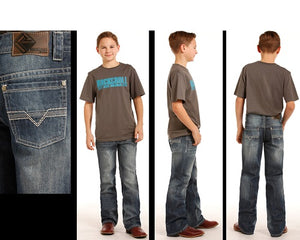 Rock & Roll Cowboy Boys' BB Gun Regular Fit Jean- Style #BB-3485