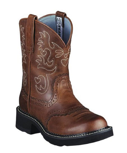 Ariat Women's Fatbaby Saddle Western Boot- Style #10000860