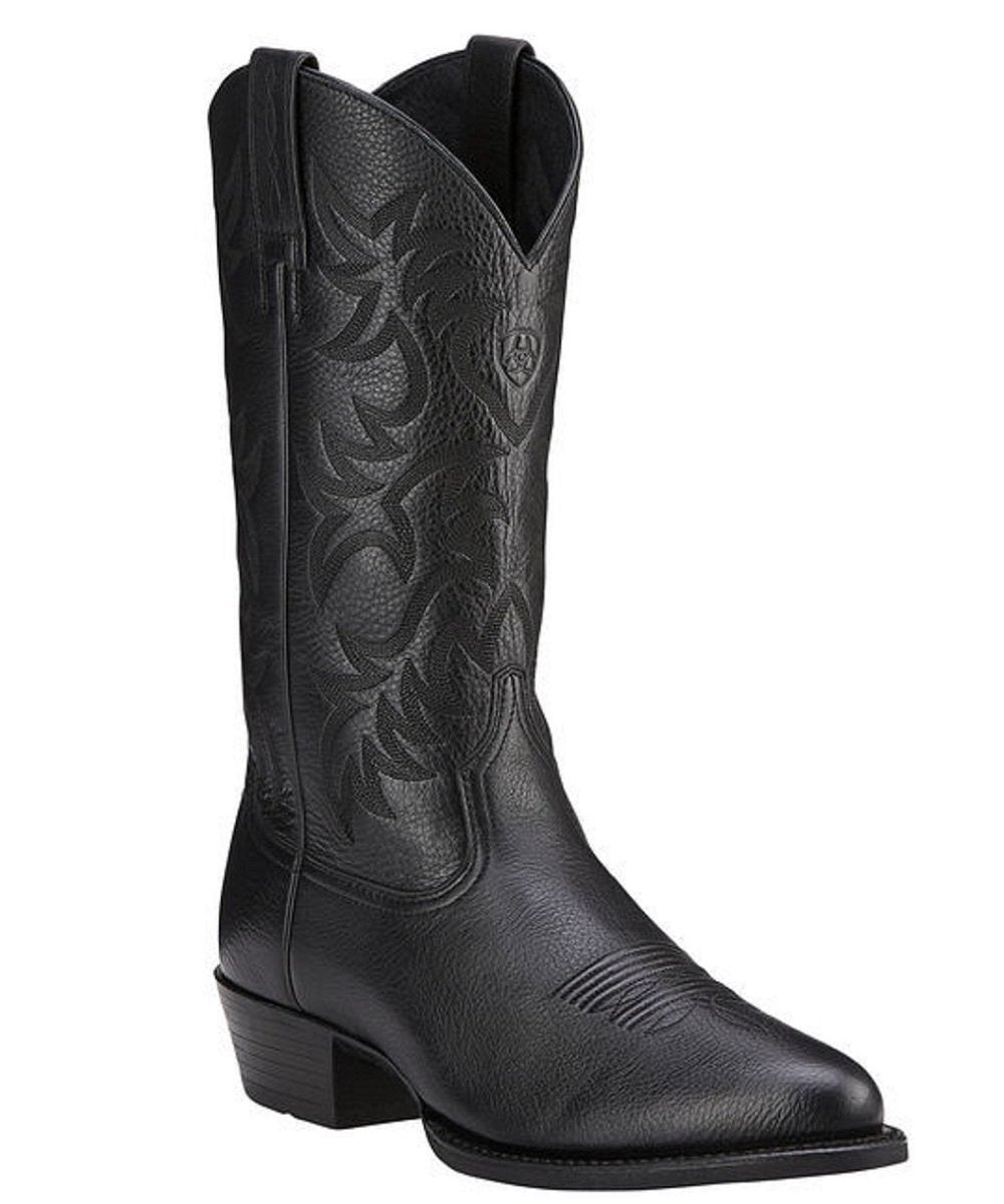 Ariat Men's Heritage R Toe Western Boot- Style #10002218