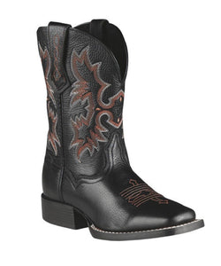 ARIAT KIDS' TOMBSTONE SQUARE TOE BOOTS - STYLE #10007845