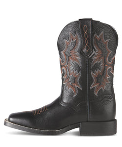 Ariat Kids' Tombstone Square Toe Boot- Style #10007845
