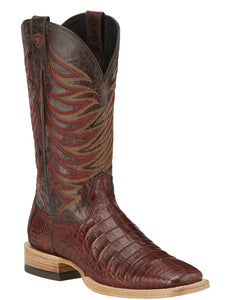 ARIAT MEN'S CAIMAN BELLY FIRE CATCHER  BOOT- STYLE #10016262