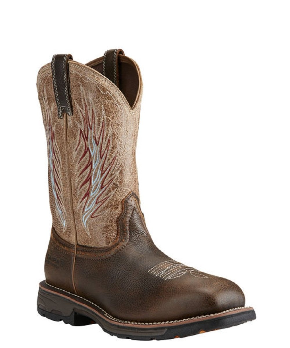 ARIAT MEN'S WORKHOG MESTENO II SAFETY TOE WORK BOOT- STYLE #10018557