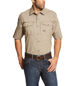 Ariat Men's Rebar Button Down Workman Shirt- Style #10019160