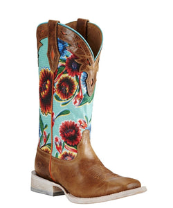 Ariat Women's Floral Textile Circuit Champion Boot- Style#10019943