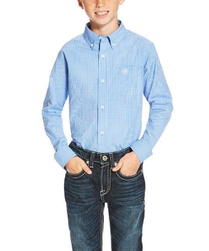 Ariat  Boys' Oakville Button Down Shirt- Style #10020353