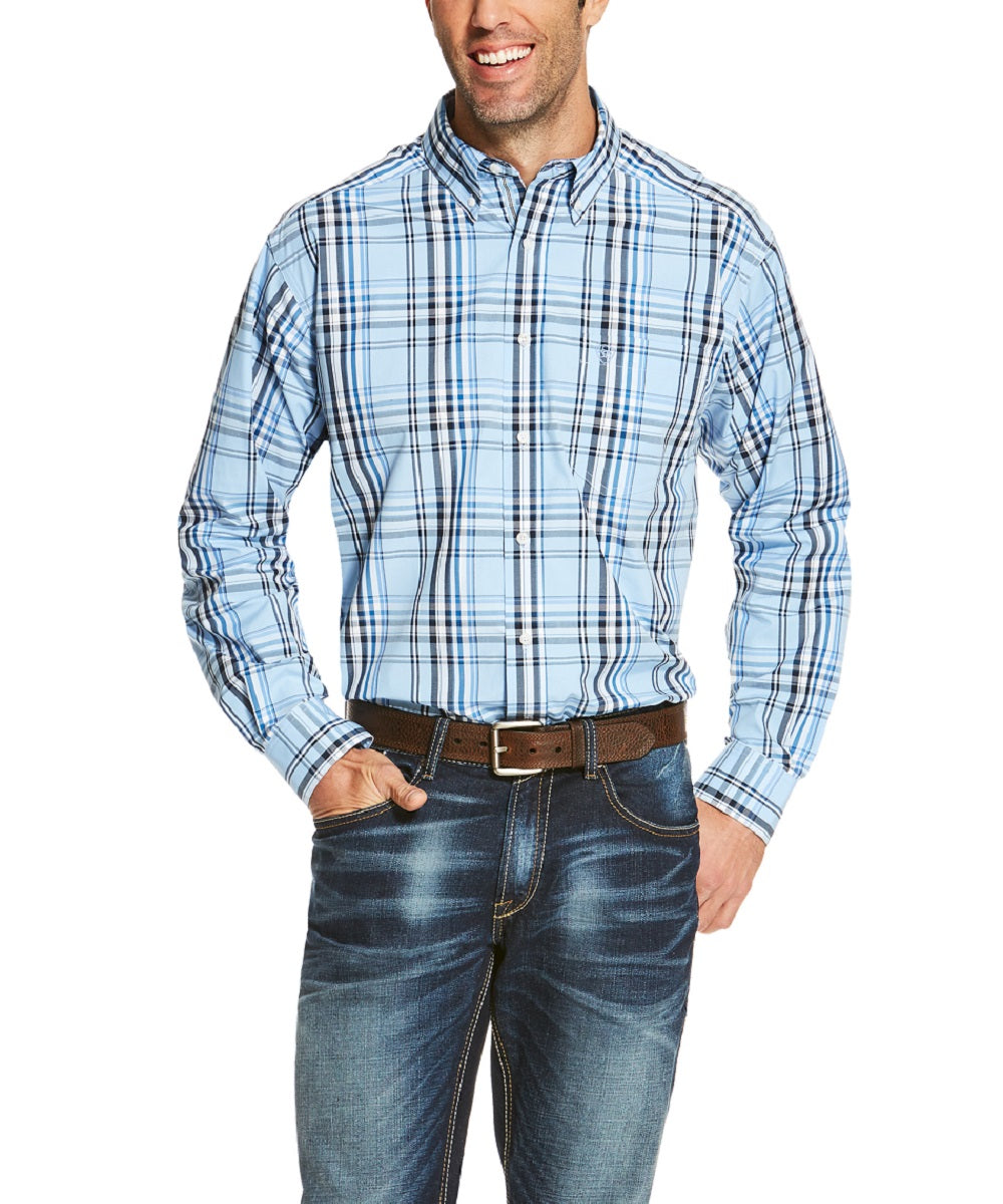 ARIAT MEN'S OAKRIDGE LONG SLEEVE BUTTON DOWN SHIRT - STYLE #10020471